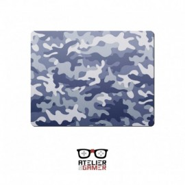 Tapis Camouflage bleu Little1