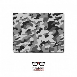 Tapis Camouflage gris Little1
