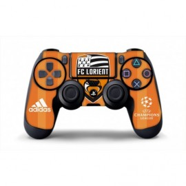 Skin FC Lorient manette PS4