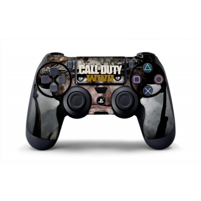 skin cod wwii manette ps4 sticker 100 made in france